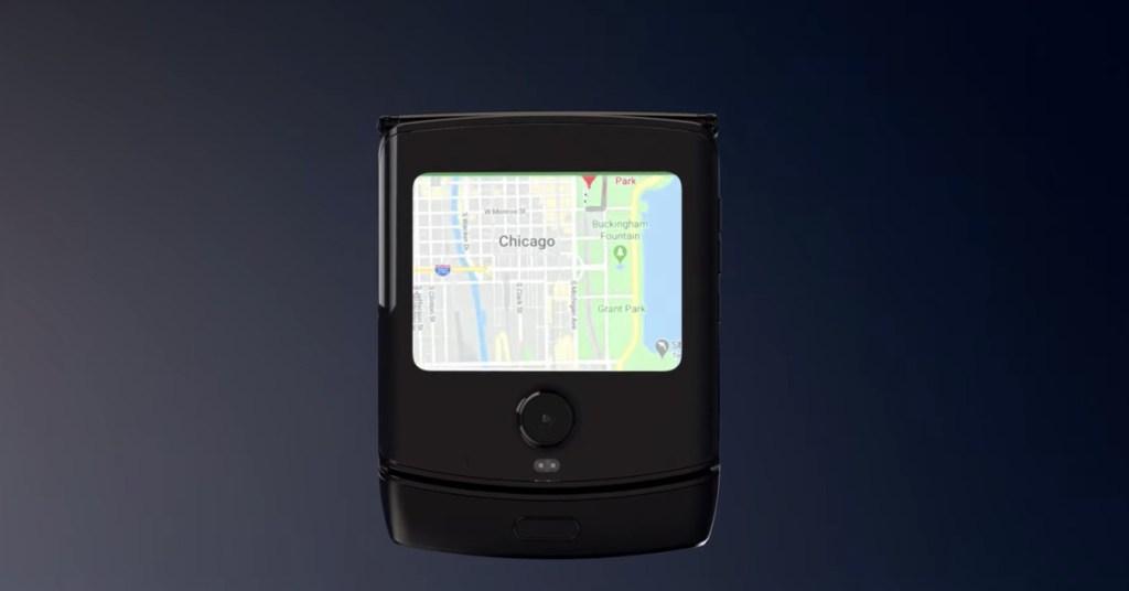 Motorola's foldable