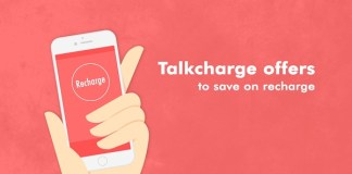 talkcharge offer cashback coupon