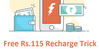 freecharge free recharge trick loot
