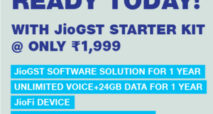 jiogst offer free internet for 1 year
