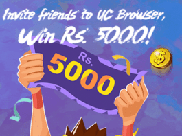 uc browser refer earn pc