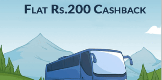 paytm bus ticket offer