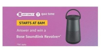 amazon Bose Soundlink Resolve+ quiz answers 3ghacker