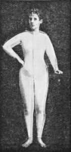 Jaros combination suit for women