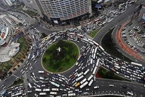 Traffic Circle from Hell