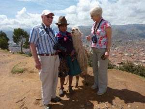 Making new friends above Cusco before AS struck