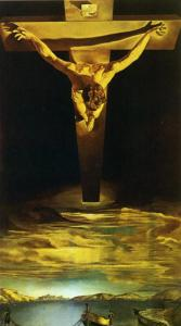 'Christ of St John of the Cross' by Salvador Dali, which hangs in Kelvingrove Art Gallery in Glasgow