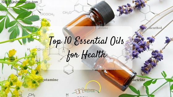 Top 10 Essential Oils for Health