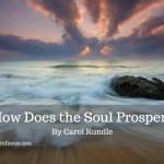 How Does the Soul Prosper-