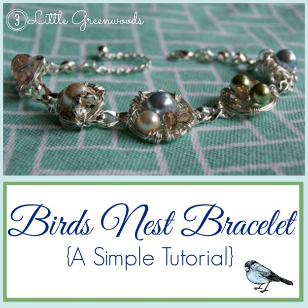 birdsnest bracelet button