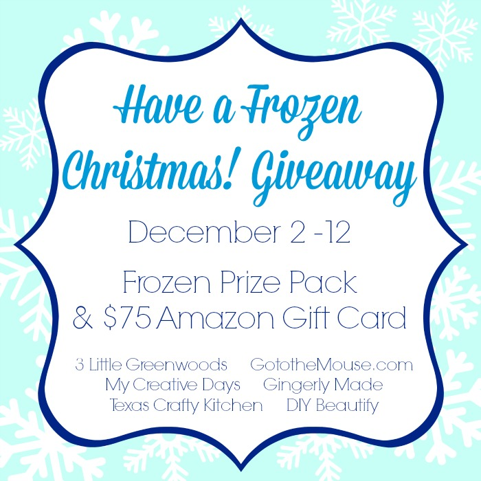 Have a Frozen Christmas Giveaway by 3 Little Greenwoods
