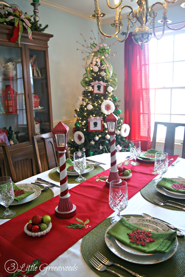 Christmas Dining Room Holiday Home Tour