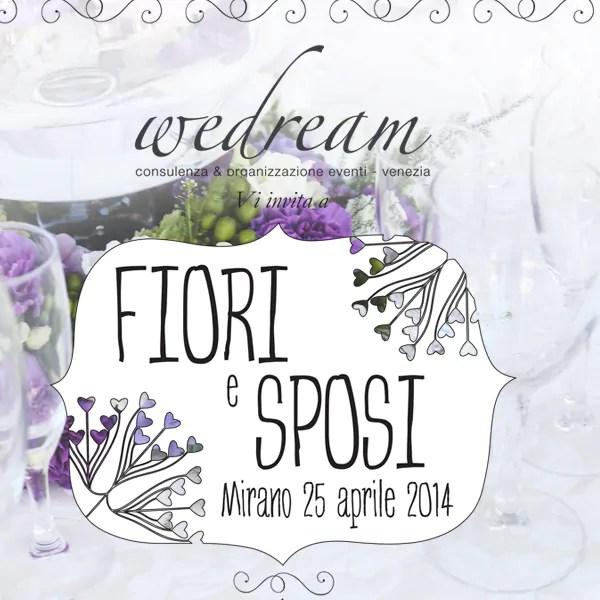 Comunicazione visiva per eventi - Fiori e Sposi a Mirano - Evento Wedream