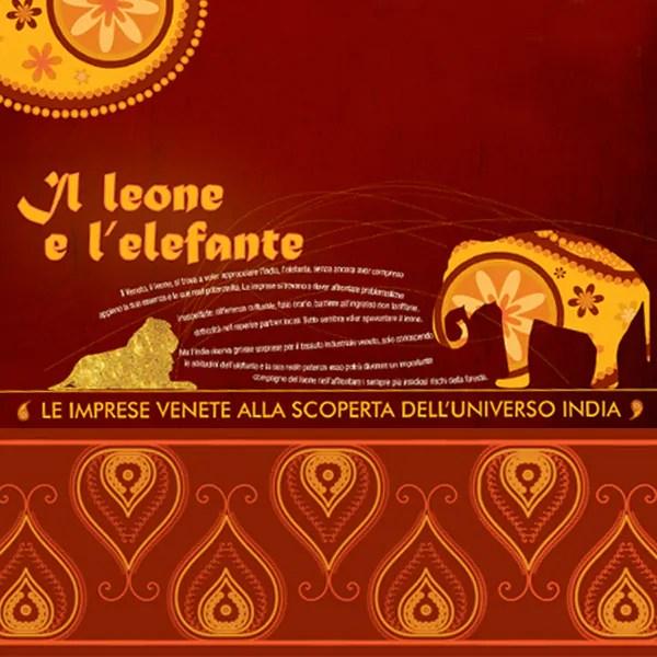 Comunicazione visiva per eventi - Il Leone e l'Elefante CFLI
