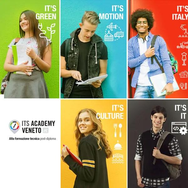 Realizzazione sito web ITS Academy Veneto