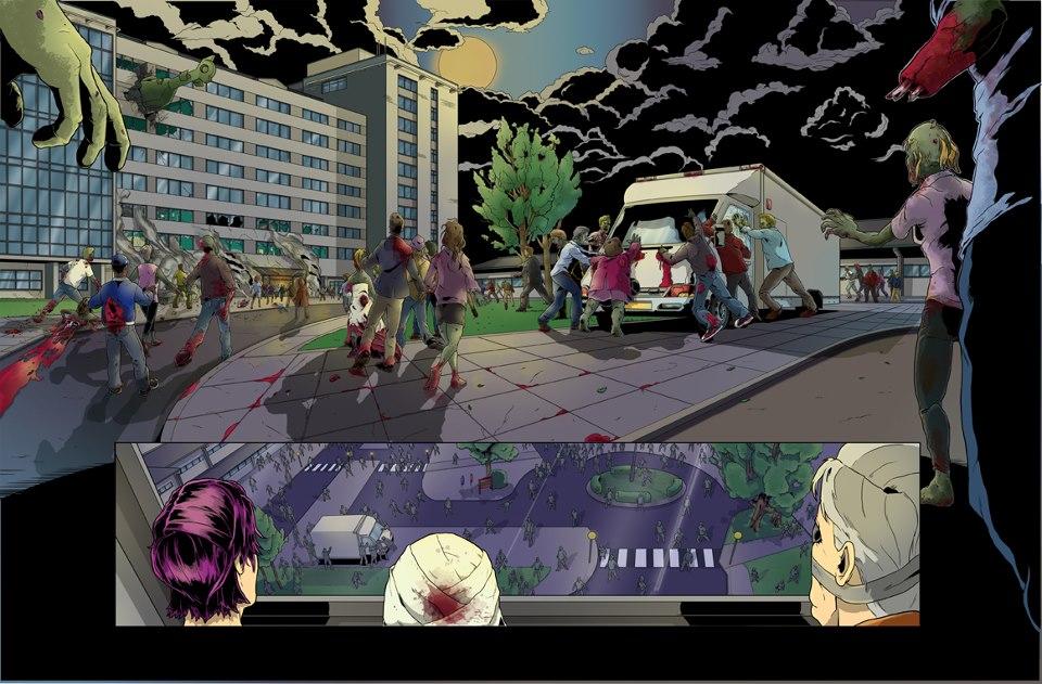 Zombies Hi 8 Promo