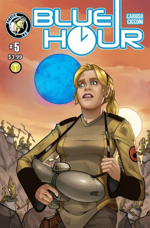 Blue Hour #5 Cover