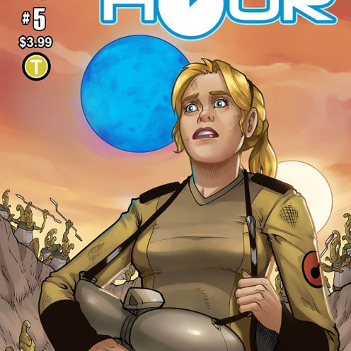 Blue Hour #5 Cover