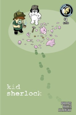 Kid Sherlock COVER B
