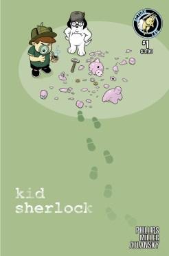Kid Sherlock COVER B