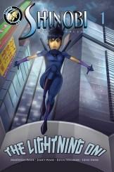 Shinobi Ninja Princess - The Lightning Oni #1 Cover
