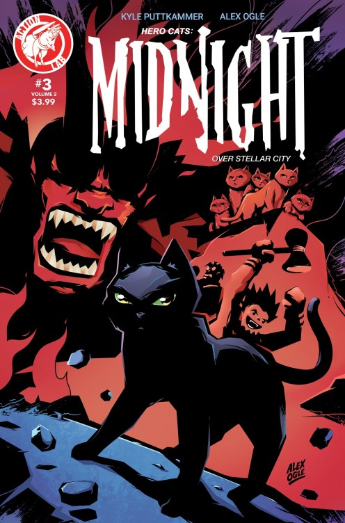 Midnight Volume 2 #3 Cover