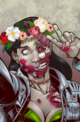 MD - Zombie Snap Print 2 by Renzo Rodriguez