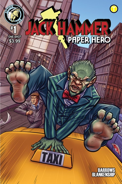 Jack Hammer Paper Hero One-Shot Cover