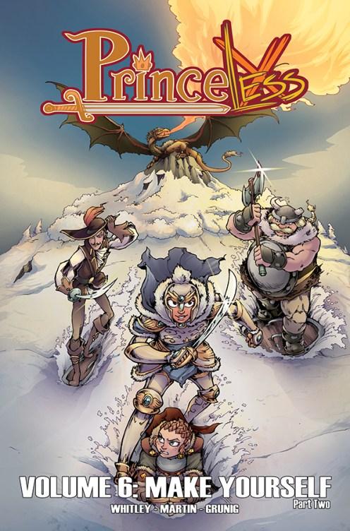 Princeless Volume 6 Cover