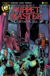 Puppet Master Curtain Call #3 Cover A