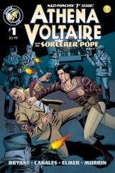 Athena Voltaire and the Sorcerer Pope #1 Cover A
