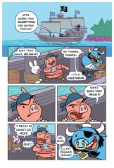 Sami the Samurai Squirrel Welcome to Woodbriar Page 5