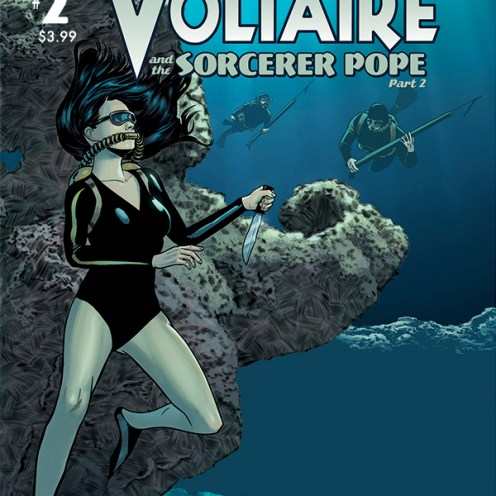 Athena Voltaire and the Sorcerer Pope #2 Cover