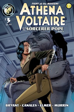 Athena Voltaire and the Sorcerer Pope #3 Cover A