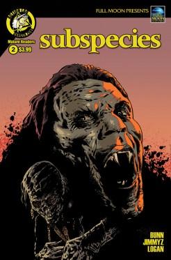 Subspecies #2 Cover B