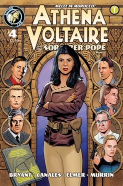 Athena Voltaire and the Sorcerer Pope #4 Cover
