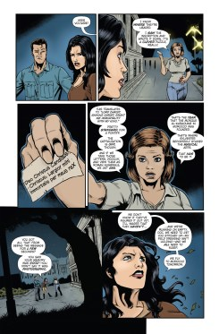 Athena Voltaire and the Sorcerer Pope #4 Page 1