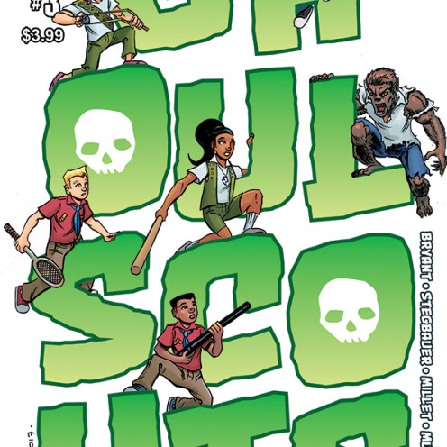 Ghoul Scouts Volume 2 #3 Cover