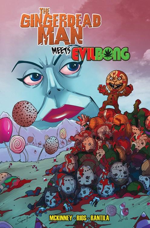Gingerdead Man Meets Evil Bong Volume 1 Cover