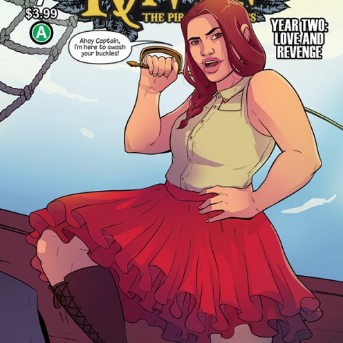 Raven Year 2 #7 Cover A