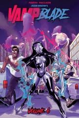 Vampblade Volume 6 Cover