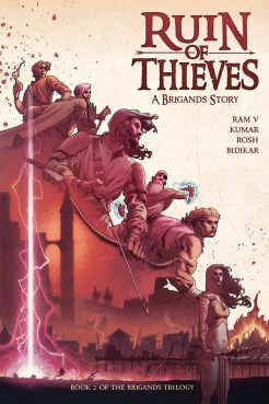 Brigands Ruin of Thieves TPB Cover