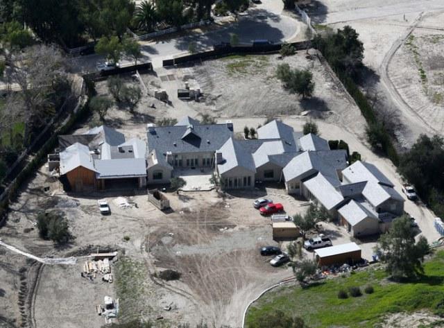 Kim Kardashian and Kanye West's Hidden Hills Home