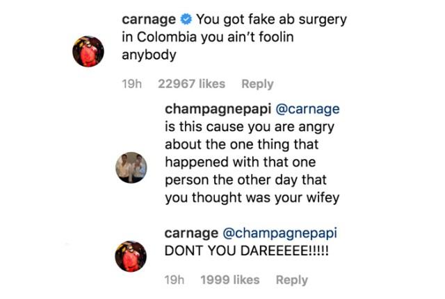 Drake and Carnage IG
