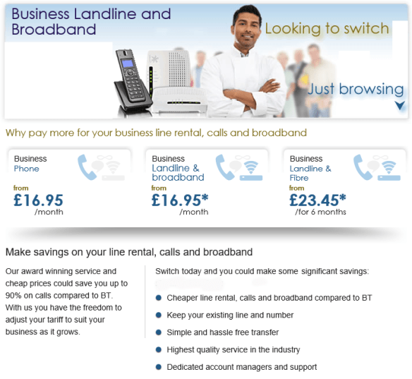 Business Broadband and Phone Deals