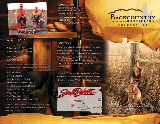 Hunting Brochures Hunting Brochure Design