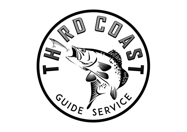Speckled Trout Logo for a Texas Fishing Guide Service