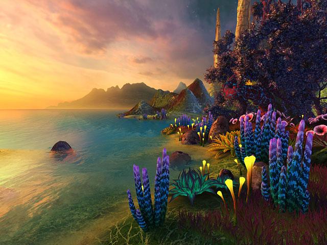 Nature 3D Screensavers  Faraway Planet  A beautiful alien planetthemed 3D screensaver