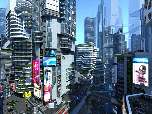 3d Live Wallpaper For Windows 8 1 Adventure 3d Screensavers Futuristic City The City Of