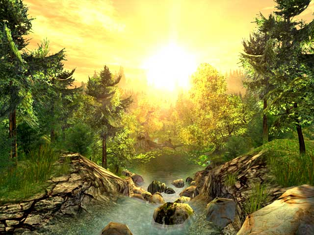 Fall Live Wallpapers For Windows 7 Nature 3d Screensavers Nature Exquisite 3d Nature